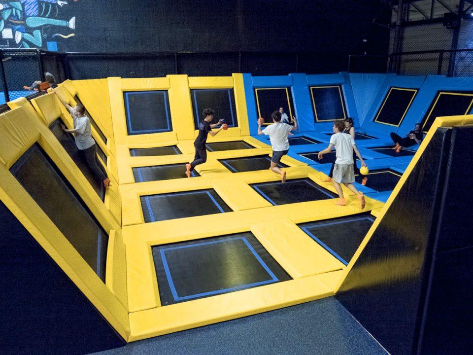Jump Arena Bordeaux - Trampoline Park et Parcours Ninja Warrior